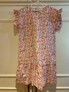 Gymboree XL NWT size 14 short sleeve floral dress