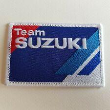 A466 Aufnäher Flicken Team Suzuki 9 6 CM