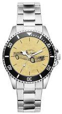 Kiesenberg Uhr 6210 Geschenk Artikel für BMW 3er E30 Cabriolet Fans und Fahrer