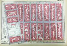 1934 ALPHABET CITY EAST VILLAGE HAMILTON FISH PARK MANHATTAN NY ATLAS MAP