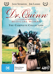 DR QUINN - MEDICINE WOMAN - COMPLETE COLLECTION (DVD, 40 DISC) NEW / SEALED