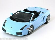 LAMBORGHINI GALLARDO LP 560-4 SPYDER PHOBE BLUE NOREV 1/18th Scale NEW IN BOX
