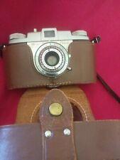 Kodak Pony 135 Camera With Kodak Leather Field Case Untested Free Shipping