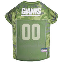 New York Giants NFL Pets First Licensed Dog Pet Mesh CAMO Jersey XS-XL NWT