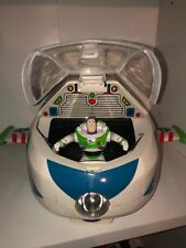 Disney Pixar Toy Story Buzz LightYear Spaceship Thinkway Woody Jessie BullsEye