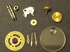 Rolex Genuine Lady Datejust Crystal Date Disc Hands Barrel Crown and more parts
