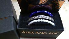 Alex and Ani Rafaelian Silver Evil Eye 3 Cuff Set A18cfsetee17rs