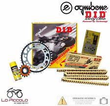 KIT TRASMISSIONE RACING DID CATENA CORONA PIGNONE HONDA CB 600 HORNET 2001 2002