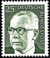 689 postfrisch BRD Bund Deutschland Briefmarke Jahrgang 1971