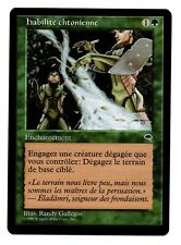 MRM FRENCH Habilité chtonienne - Earthcraft  MINT ! MTG magic Tempest