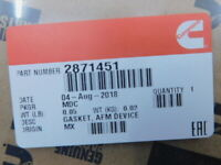 Genuine Cummins 2871451 *GASKET, AFM DEVICE