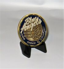 US Navy Blue Angels   Challenge Coin  with Stand