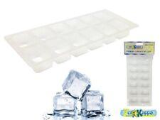Set 6 PZ. forma cubetti ghiaccio vaschetta in plastica lavabile in lavastoviglie