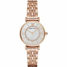 Emporio Armani Women's Watch Rose Gold/Mother of Pearl dial AR1909