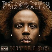 Vitiligo - Tech N9ne Presents Krizz Kaliko (2008, CD NIEUW) Explicit Version