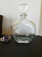 """""""Made in Italy"""" VINTAGE Glass Liquor Alcohol glass Decanter"""