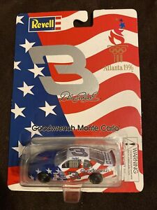 #3 DALE EARNHARDT GOODWRENCH 1996 ATLANTA OLYMPICS MONTE CARLO REVELL 1/64