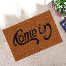 Welcome-Go Away Doormat Funny Indoor Outdoor Rubber Floor Mat Rugs Carpet