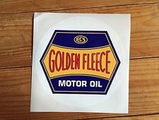 Golden Fleece 'Motor Oil' Hex logo vinyl decal for petrol bowser / pump