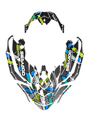 !Seadoo SPARK trixx Bombardier 2up 3up Jet Ski Graphic Kit Decal Wrap Custom