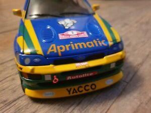 1/18 UT Ford Escort Bernardini. Rallye Monte Carlo 1996. No Minichamps