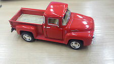 1956 FORD F-100 pickup red kinsmart TOY model 1/38 scale diecast Car present