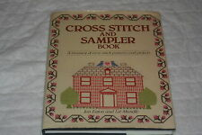 Cross Stitch and Sampler Book by Liz Mundie and Jan Eaton (1984, Hardcover)