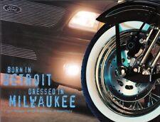 2001 01 Ford truck Harley Davidson original  brochure