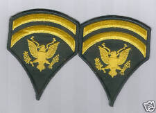 US ARMY SPECIALIST 6 RANK VIETNAM ERA - 1 PAIR