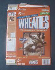 Jackie Robinson--Brooklyn Dodgers--1997 Wheaties Cereal Box