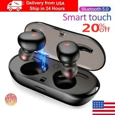 USA Bluetooth 5.0 Earbuds Wireless Headphones Earphones For i phone Android TWS4