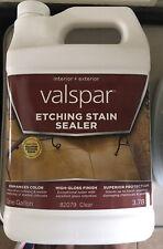 Valspar Etching Concrete Stain Sealer High Gloss Interior Exterior 1 Gallon