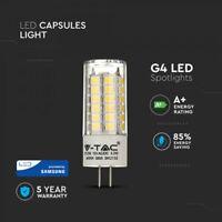 LED T16 Plastic Bulb G4 Base with SAMSUNG Chip 3.2W 385Lm by V-TAC
