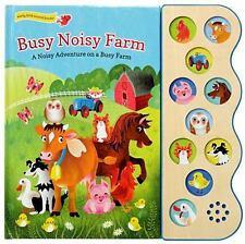 Busy Noisy Farm by Julia Lobo (2015, Board Book)