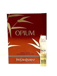 OPIUM by Yves Saint Laurent for WOMEN  0.04oz-1.2ml EDT Spray SAMPLE VIAL  (C54