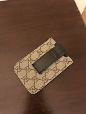 dba532841 Authentic Unisex Gucci Phone Brown Guccissima Case for iPhone 4 4s