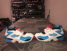 Nike Air Diamond Turf 2 '09 Boys Youth Atheltic Shoes Size 7Y White Blue Red