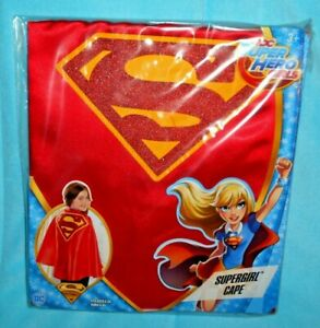 DC Super Hero Girls SUPERGIRL CAPE Dress Up Outfit Costume Halloween NEW
