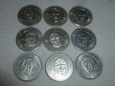 VINTAGE SF SAN FRANCISCO 1994-95 THEN AND NOW LIMITED COIN COLLECTION LOT SET >>