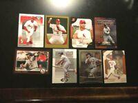 Topps, Albert Pujols, 8 Baseball Cards-NM-MT-FREE SHIPPING