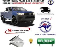 to suit: Toyota HILUX and PRADO - Transmission torque converter lock up kit