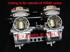 Yamaha 1973-83 Carburetor Rebuild Service XS  Carbs All Models XS400 XS500 XS650
