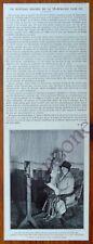 TELEPHONIE SANS FIL REINE HOLLANDE EINDHOVEN    document photo 1927 clipping