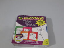 The Adventures of Thin Than 24 Beginning Readers & Activity Cd Home School