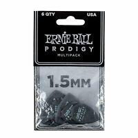 Guitar Picks Ernie Ball Prodigy Electric Acoustic 1.5mm Black P09342 6 pack