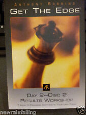 Anthony Robbins Get the Edge - Day 2 Disc 2  RESULTS WORKSHOP  CD Worldwide Ship