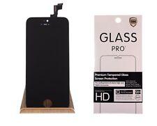 iPhone 5s Retina Display LCD Touch Screen Scheibe schwarz + Panzerfolie