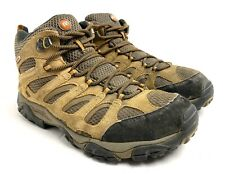 Merrell Moab 2 Mid Earth Mens Size 9 Waterproof Hiking Trail Boots