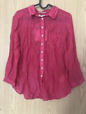 Mexx Pink Blouse - Size 40 - Bnwt - New - Includes Silk - RRP £25
