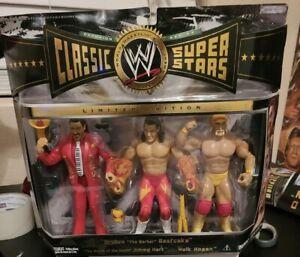WWE Hulk Hogan Jimmy Hart Brutus Beefcake Classic Superstars 3 Pack NEW WWF
